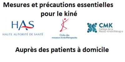 Recommandations HAS : mesures et précautions essentielles pour le masseur-kinésithérapeute auprès des patients à domicile