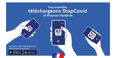 Lancement de l'appli StopCovid pour limiter le risque de transmission du covid-19