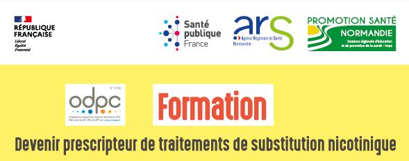 """Formation """"Devenir prescripteur de traitements de substitution nicotinique"""""""