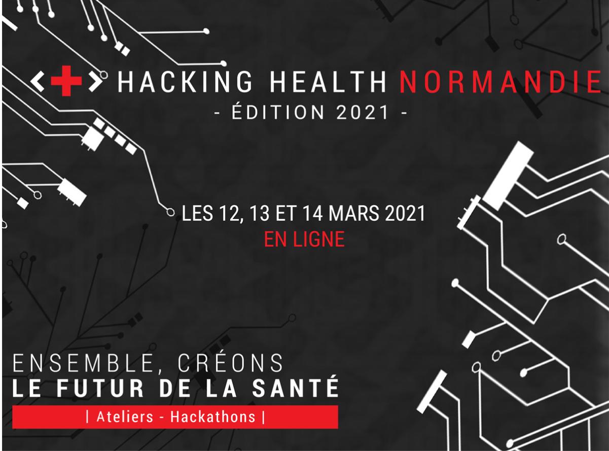 5e édition du marathon de l'innovation Hacking Health Normandie