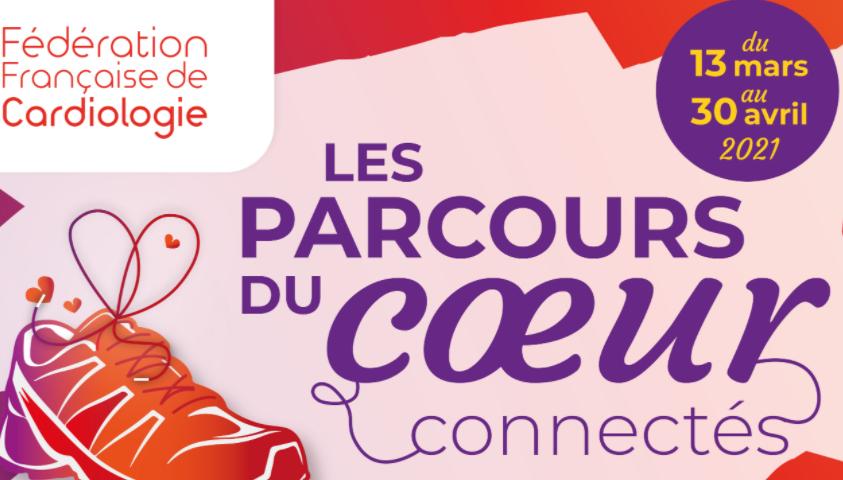 """Défi collectif """"Les parcours du cœur connectés"""""""
